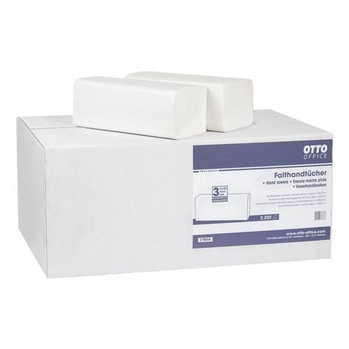 Papierhandtücher weiß, OTTO Office, 25 cm