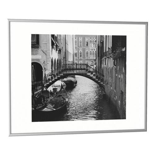 Bilderrahmen 40,7 x 50,7 cm alu, Paperflow, 40.7x50.7 cm