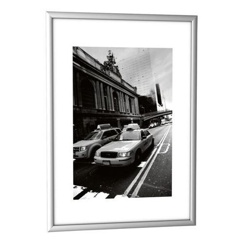 Bilderrahmen 21,7 x 30,4 cm alu, Paperflow, 21.7x30.4 cm