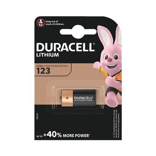 Photo Batterie »Photo Lithium Ultra« 123 / CR17345, Duracell, 1.7x3.45 cm