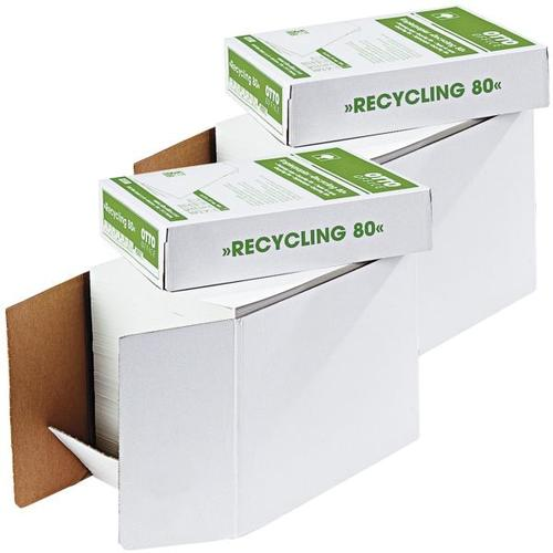 2 Öko-Boxen à 2500 Blatt Recyclingpapier »Recycling« weiß, OTTO Office Nature