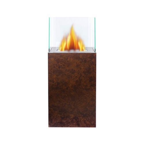 Bio-Ethanol Kamin Cubus Creation Holz