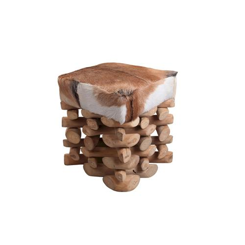 SIT Romanteaka Hocker Teak Goat 7995-17