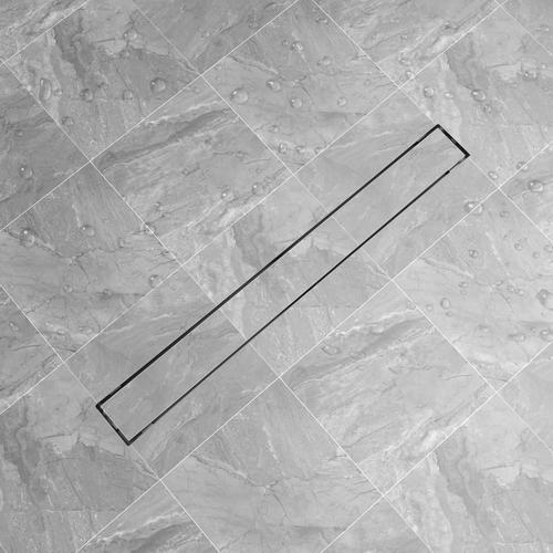 vidaXL Duschablauf Linear 930x140 mm Edelstahl