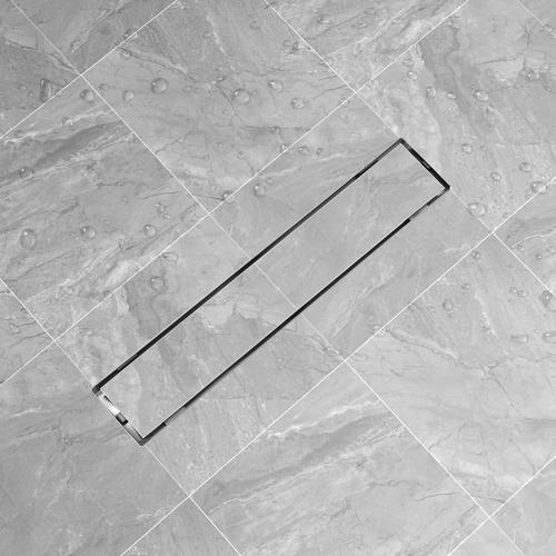vidaXL Duschablauf Linear 630x140 mm Edelstahl