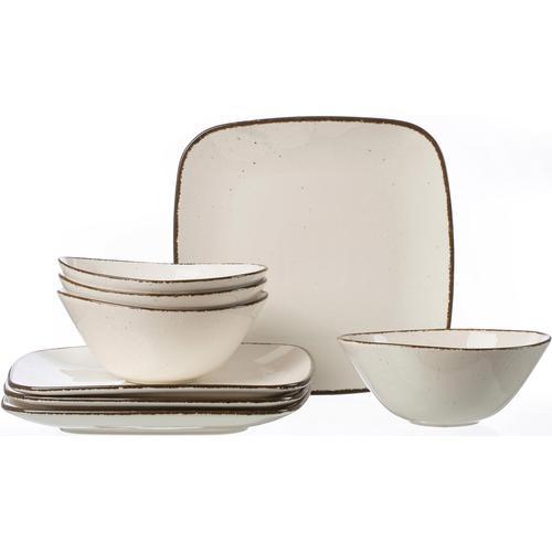 Ritzenhoff & Breker Tafelservice CASA, (Set, 8 tlg.), Vintage Look beige Geschirr-Sets Geschirr, Porzellan Tischaccessoires Haushaltswaren
