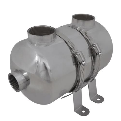 vidaXL Pool-Wärmetauscher 292 x 134 mm 28 kW