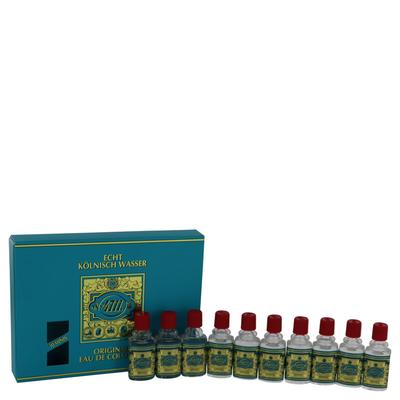 4711 For Men By 4711 Gift Set - Includes Ten (10) Travel Size Eau De Cologne .10 Oz In A Gift Box --