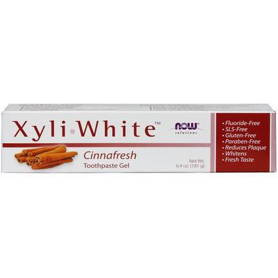 Now Foods Xyliwhite Cinnafresh Toothpaste Gel 6.4 oz (181 g)