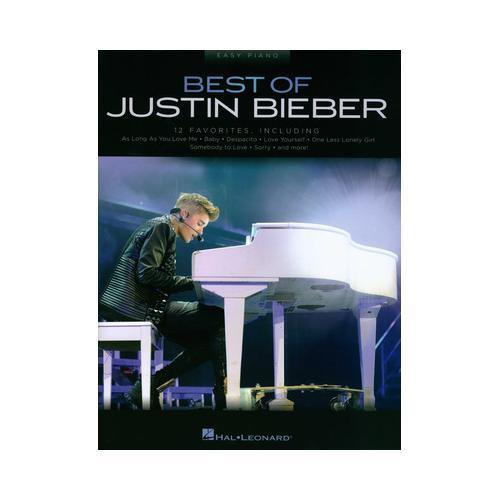 Hal Leonard Best Of Justin Bieber
