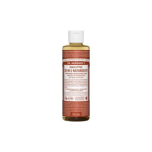 Dr. Bronner's Pflege Körperpflege Eukalyptus 18-in-1 Naturseife 240 ml