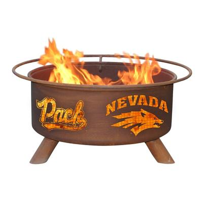 Nevada Wolf Pack Fire Pit