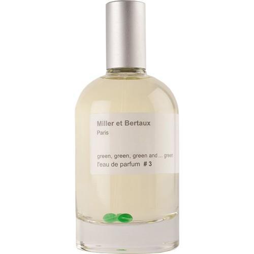Miller et Bertaux # 3 green green green and ... green Eau de Parfum (EdP) 100 ml Parfüm