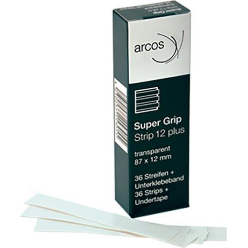 Arcos Super Grip Plus Strips 87 x 12 mm für Folien-Klebeflächen 36 Stk. Friseurzubehör