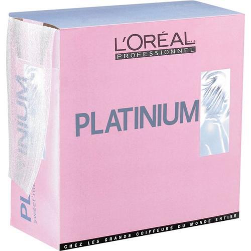 L'Oréal Professionnel Platinium Sweet Mèches 155 Blatt Blondierung