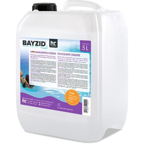 Höfer Chemie - 4 x 5 Liter BAYZID® Flockungsmittel flüssig für Pools