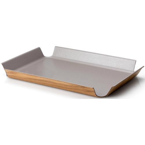 Continenta Tablett, (1 tlg.) grau Tablett Tischaccessoires Geschirr, Porzellan Haushaltswaren