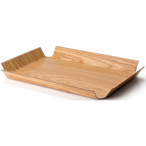 Continenta Tablett, (1 tlg.) braun Tablett Tischaccessoires Geschirr, Porzellan Haushaltswaren