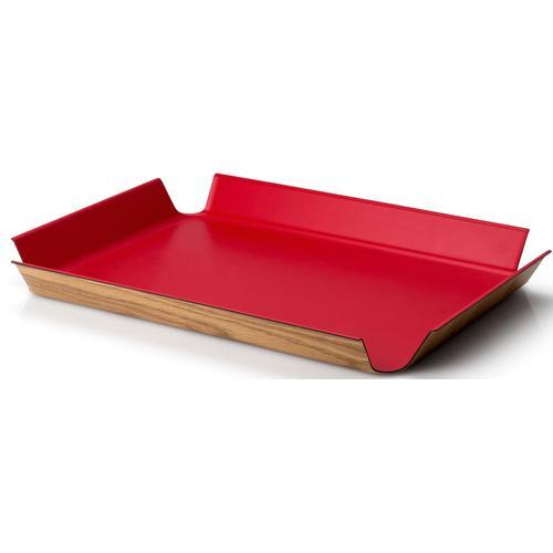 Continenta Tablett, (1 tlg.) rot Tablett Tischaccessoires Geschirr, Porzellan Haushaltswaren