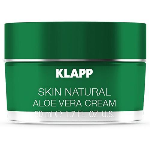 Klapp Skin Natural Aloe Vera Cream 50 ml Gesichtscreme