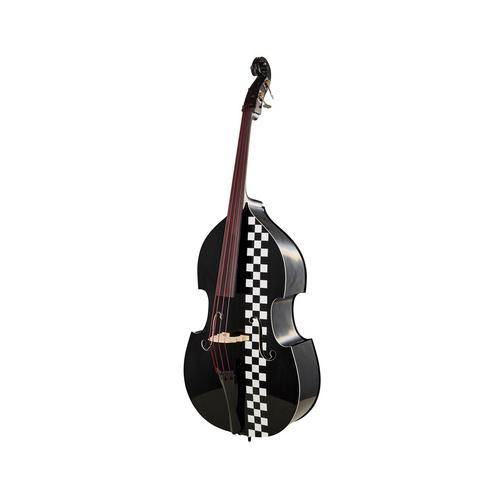 Thomann Rockabilly Slap Rod Bass BK/RD