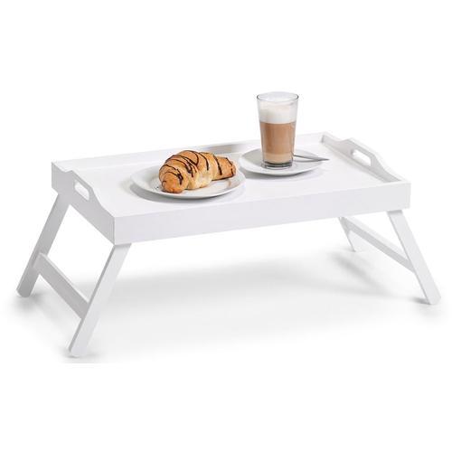 Zeller Present Tablett, (1 tlg.) weiß Tablett Tischaccessoires Geschirr, Porzellan Haushaltswaren