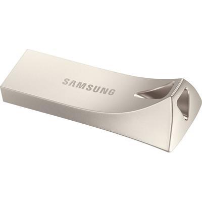 Samsung 128GB BAR Plus USB Flash Drive Silver
