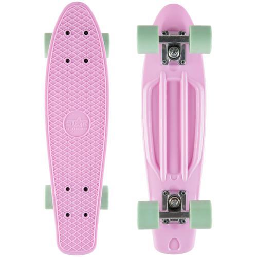 Star-Skateboard Skateboard, Kicktail rosa Skateboards Skateausrüstung Sportausrüstung Accessoires Skateboard