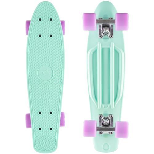 Star-Skateboard Skateboard, Kicktail grün Skateboards Skateausrüstung Sportausrüstung Accessoires Skateboard
