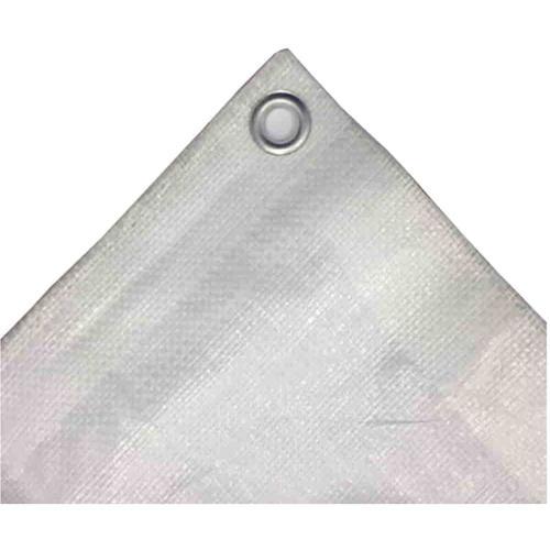 weiss 180 g/m² 8 x 12 (96m²) Abdeckplane