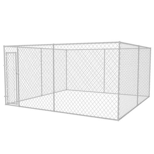 vidaXL Outdoor-Hundezwinger 4x4x2 m
