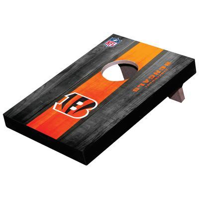 Cincinnati Bengals Wooden Table Top Toss Set