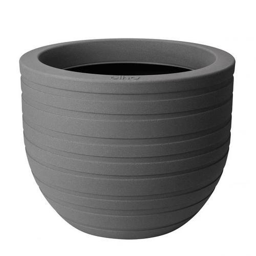 Pflanzkübel Ribbon, grau, 40 cm