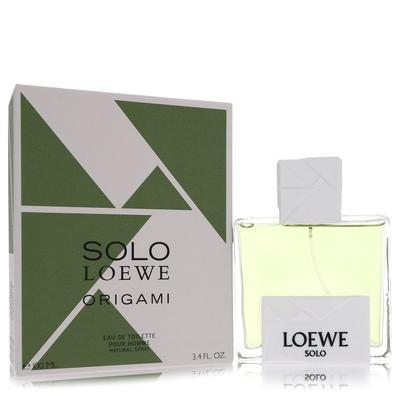 Solo Loewe Origami For Men By Loewe Eau De Toilette Spray 3.4 Oz