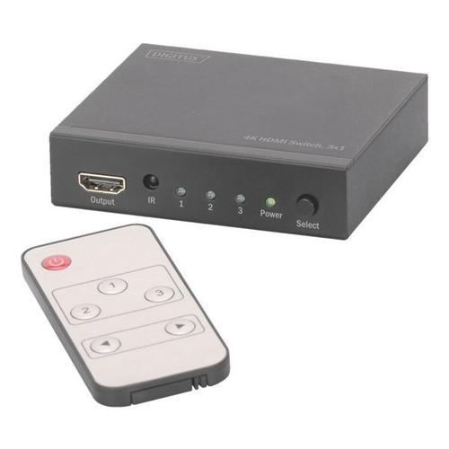 HDMI Switch 4K 3x1 »DS-48304«, Digitus
