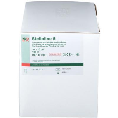 Stellaline 5 Sterile 10cm x 10cm pc(s) compresse(s)