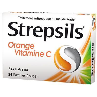 Strepsils® Orange Vitamine C pc(...