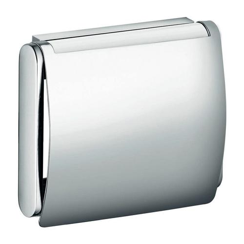 Toilettenpapierhalter Toilettenpapierhalter PLAN mit Deckel verchromt - Keuco