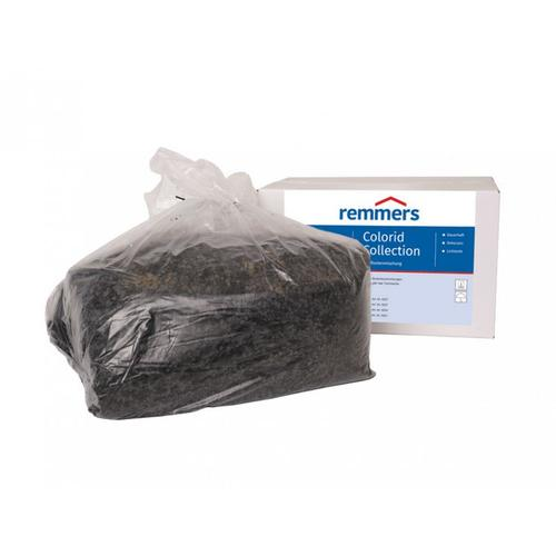 Colorid Collection, 10 kg - Einstreumaterial, Colorid 305 schwarz-anthrazit - Remmers
