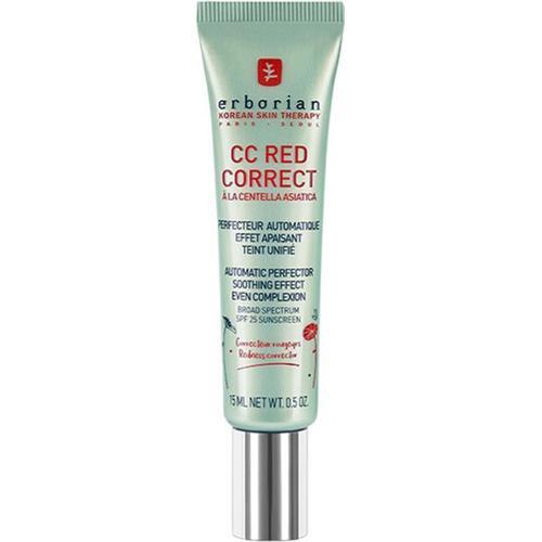 Erborian CC Red Correct Créme High Definition Skin Perfector SPF25 15 ml CC Cream