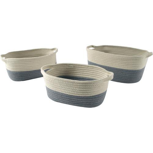 locker Aufbewahrungskorb grau Körbe Boxen Regal- Ordnungssysteme Küche Ordnung
