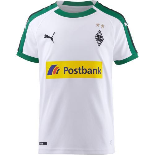 PUMA Borussia Mönchengladbach 18/19 Heim Trikot Kinder in puma white, Größe 140