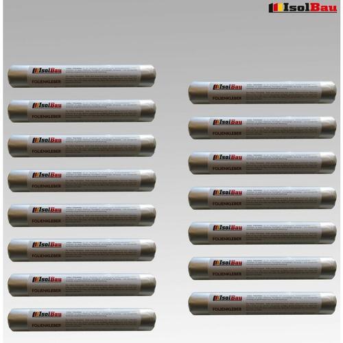 EPDM-Kleber Dichtkleber für Dampfbremse 15 x 600 ml Folienkleber Dampfsperre