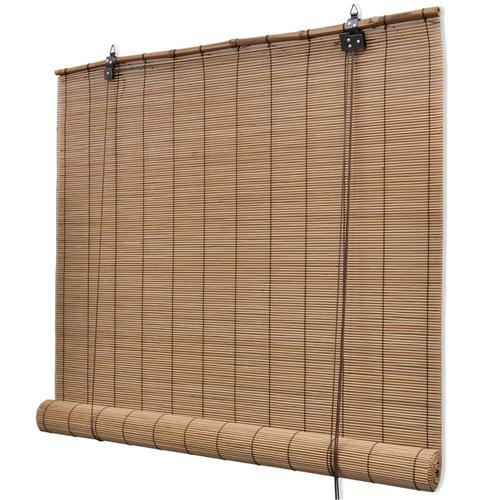 vidaXL Bambusrollo 80 x 220 cm Braun