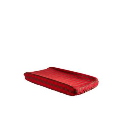 Trend Lab Brown Deluxe Flannel Changing Pad Cover