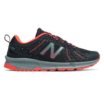 New Balance Women's 590v4 Trail Shoes Navy with Orange - WT590LP4 - 7 - D