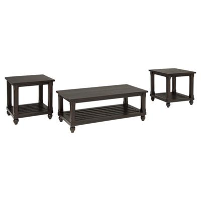 Signature Design Mallacar Occasional 3-Pc Table Set - Ashley Furniture T145-13