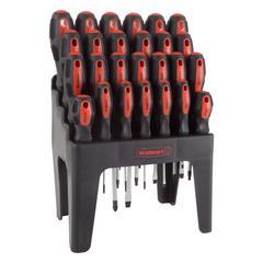 Stalwart Tool Sets - 26-Piece Magnetic Tip Screwdriver Set