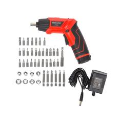 Stalwart Tool Sets - 45-Piece 3.6V Rechargeable Pivoting Cordless Screwdriver Set