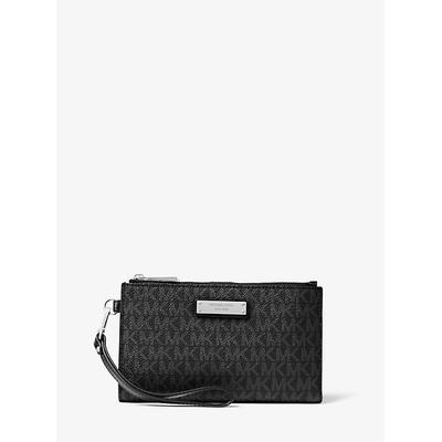 Michael Kors Adele Logo Smartphone Wallet Black One Size
